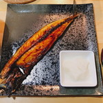 どさんこ食堂 カムイ - 「トロサバ焼き定食:半身(650円)」