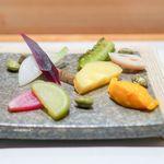 倭 - 旬のお野菜の塩茹で