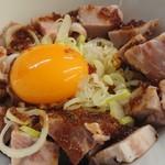 麺や 鳥の鶏次 - レアチャーシュー丼 2018/10/08