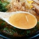 らーめん 福 - スープの感じ