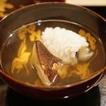 ふじ原 - 鱧と松茸のお吸い物