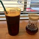 ザ サンドイッチ クラブ - アイスコーヒー    オリジナルシロップ付き