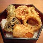 ネイバーフッドキッチン レン - ランチ☆するめいかと野菜のかき揚げ丼