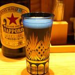 柳橋きたろう場内 - サッポロ ラガービール