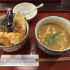 古奈屋 - 料理写真:Bセット ハーフカレーうどんと天丼