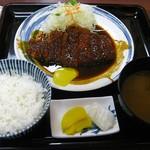 95141219 - 味噌とんかつ定食並1200円