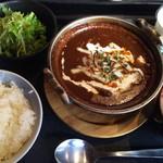 95141887 - 牛タンデミチーズ煮定食
