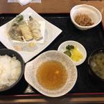 95143940 - あなごの天ぷら定食@1000
