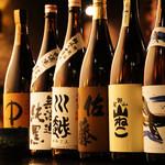 いろり家 別邸 - 想いが詰まった本格焼酎! 季節の日本酒も勢ぞろい!