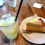 95148098 - グレープフルーツジュースと味わい塩のチーズスフレ