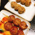 ミツワ - 肉ダンゴ 塩&タレ  各1本150円
