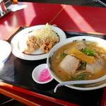 但馬ラーメン春日森店 - 料理写真:から揚げ定食830円(税込)