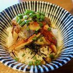 寿製麺 よしかわ - イワシ丼 400円
