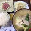 Yambarushokudou - 料理写真:ソーキ汁定食880円