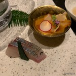 日本料理 鳥羽別邸 華暦 - 刺身