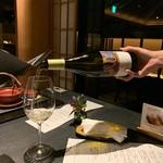 日本料理 鳥羽別邸 華暦 - ソーヴィニヨンブラン