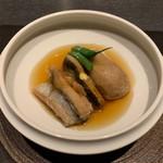 日本料理 鳥羽別邸 華暦 - 秋刀魚