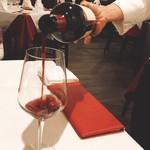 95158326 - ワインは赤ミディアムボディ(^^)