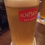 SCHMATZ - カンダクラフトです これを飲んだらパスポートをくれました こういう企画は客を楽しませるのにぴったりです
