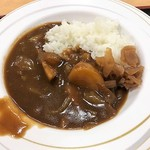 大衆食堂 半田屋 - ハーフカレー175円税込