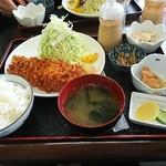 とんかつ げんき - ロースカツ定食