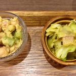 タケウチ - ミニサラダ2品
