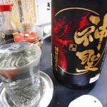 鳥清 - 神聖超辛口一合500円(おまけ付き)