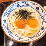 丸亀製麺 - 明太釜玉うどん 420円