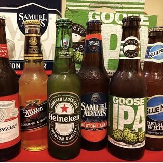 《お酒の種類がハンパない》クラフトビールもはじめました♪