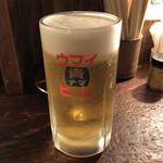 焼とんya たゆたゆ 天満 - ビール(青)♪