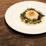 BISTRO Lanterne - 『牡蠣のフォンダンとカリフラワーのムース』