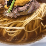 Japanese Soba Noodles 蔦 - 大量の松茸出汁、和牛牛骨スープによる超贅沢なスープ