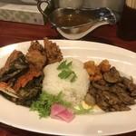 中華料理 八戒 - 蟹出汁麻辣キーマカリィ スペシャル