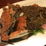 中華料理 八戒 - 蟹出汁麻辣キーマカリィ スペシャル 渡り蟹側から