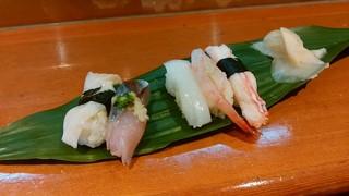 福寿し - 握り寿司5貫