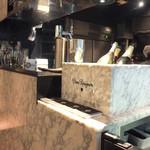 マーサー カフェ - ドンペリで乾杯!