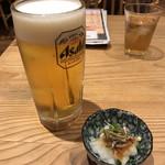 95170166 - ビールセットと日替わり小鉢