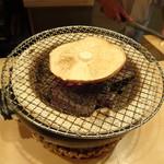 祇園 淺田屋 - 松茸 火鉢で焼いています