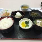 宮島サービスエリア(下り)スナックコーナー - 朝定食