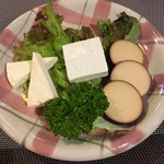 山猫軒 - チーズ3品盛り合わせ