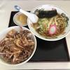 Hanachan - 料理写真:ゲソ丼+ミニラーメン