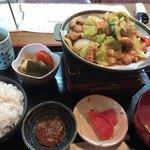 おかみさん - 料理写真:鶏ちゃん定食     830円