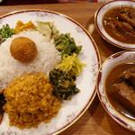 Curry シバ - カレー2種