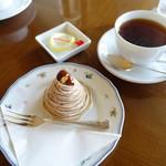 箱根ハイランドホテル ラウンジ - ケーキセット