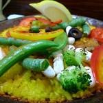 スペイン 西洋料理 パセパセ - 栗とエビのパエリヤ