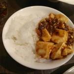 中華 本田 - ごはんと麻婆豆腐
