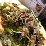 ジャミン - 豆腐とシラスのサラダ
