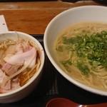 らーめん八角 - 濃厚味噌つけ麺 842円