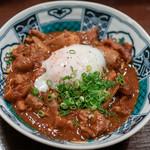 魚浪人 - 2018.10 ホルモンの八丁味噌煮込み(680円)