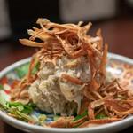 魚浪人 - 2018.10 自家製ツナ入りポテトサラダ(480円)